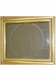 Зеркало настенное, Прямоугольное в позолоченной раме